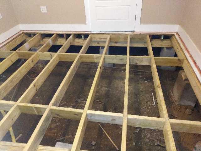 pier & beam foundation repair